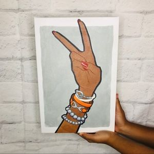 Oliver The Gal Print on Canvas - Luxe Peace